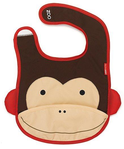 Skip Hop - Monkey Print Baby Bib