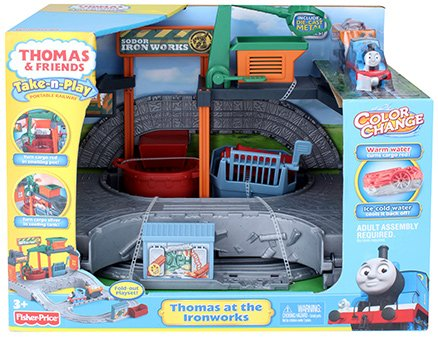 Thomas & Friends - Take-n-Play Thomas at the Ironworks Play Set