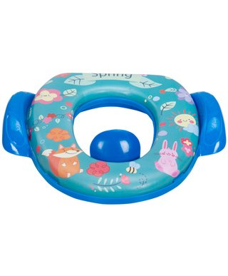 Mee Mee Cushioned Non-Slip Potty Seat With Handles - Dark Blue