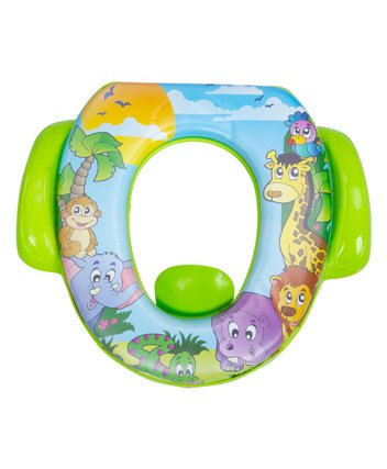 Mee Mee Cushioned Non-Slip Potty Seat With Handles - Green