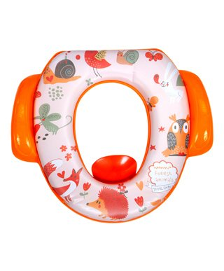 Mee Mee Cushioned Non-Slip Potty Seat With Handles - Orange