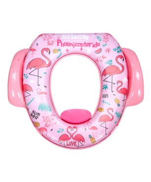 Mee Mee Cushioned Non-Slip Potty Seat With Handles - Pink