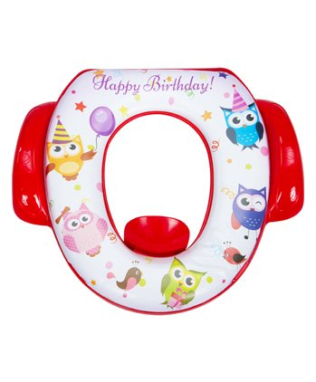 Mee Mee Cushioned Non-Slip Potty Seat With Handles - Red