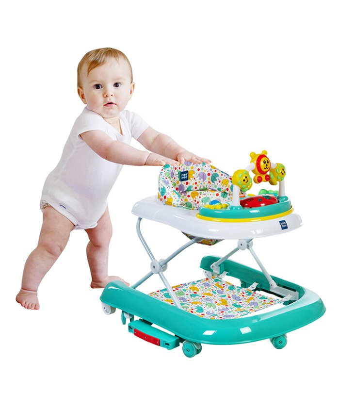 Mee Mee Rocking Walker With Musical Play Tray - Green