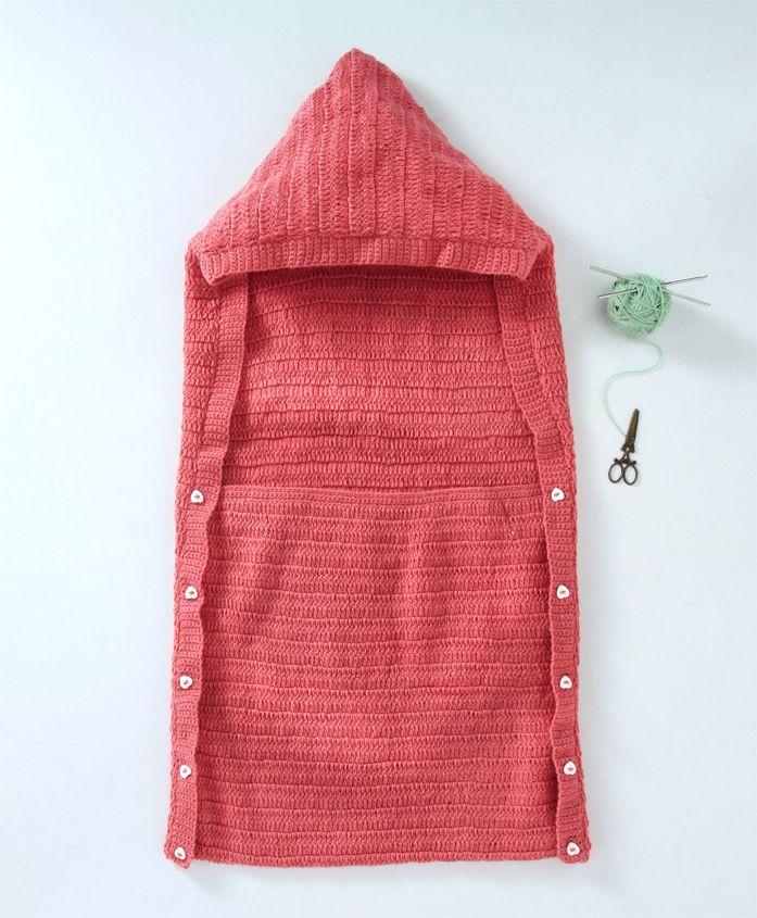 Rich Handknits Sleeping Bag - Pink