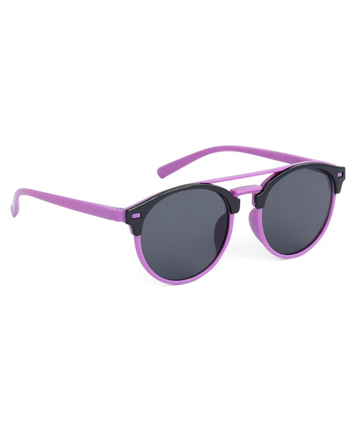 Babyhug Kids Sunglasses - Purple Black