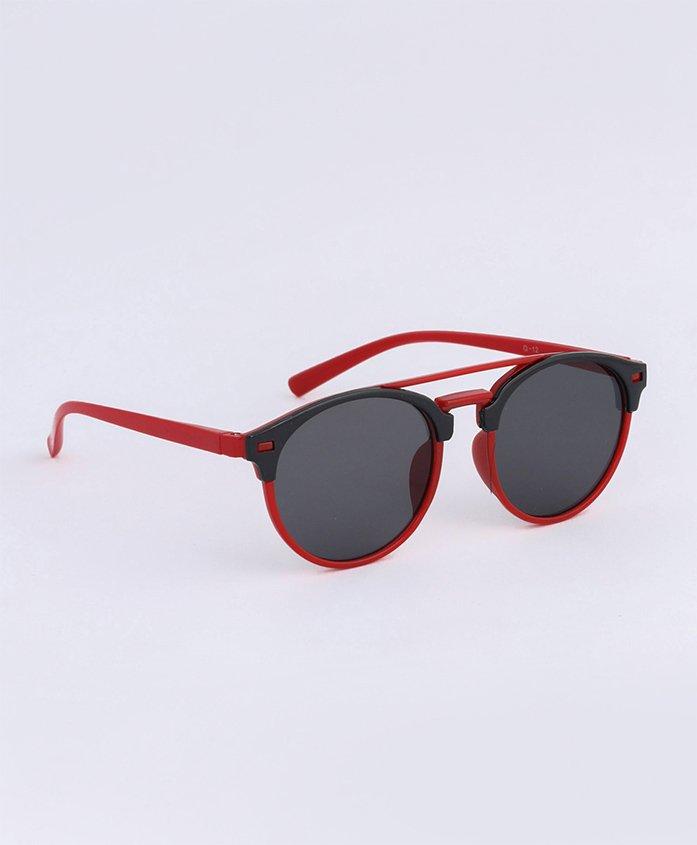Babyhug Kids Sunglasses - Black Red