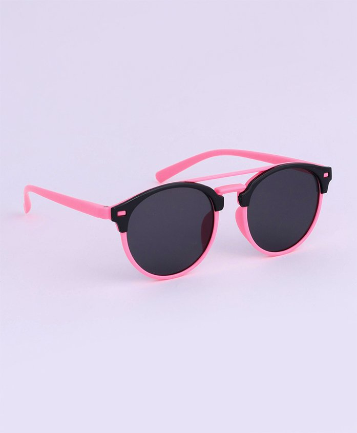 Babyhug Kids Sunglasses - Black Pink