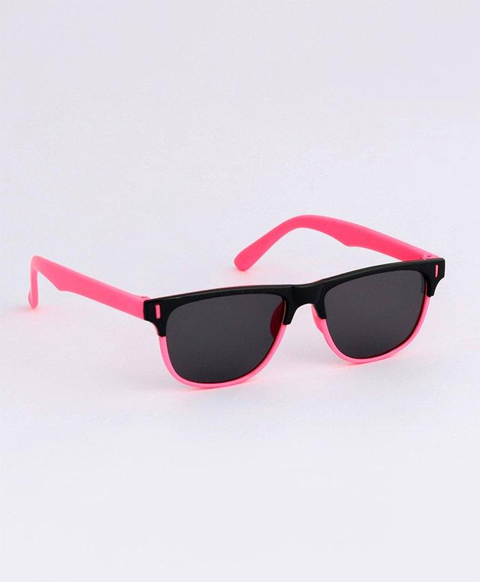 Babyhug Wayfarer Kids Sunglasses - Black Pink