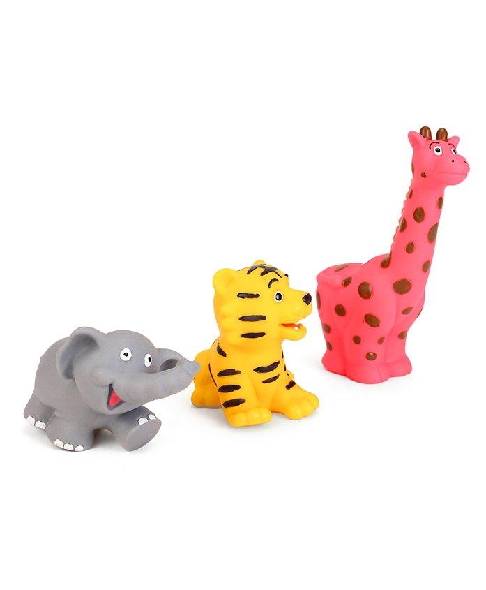 Speedage Animal Kingdom Asstorted Bath Toys Set of 3 - Multicolor