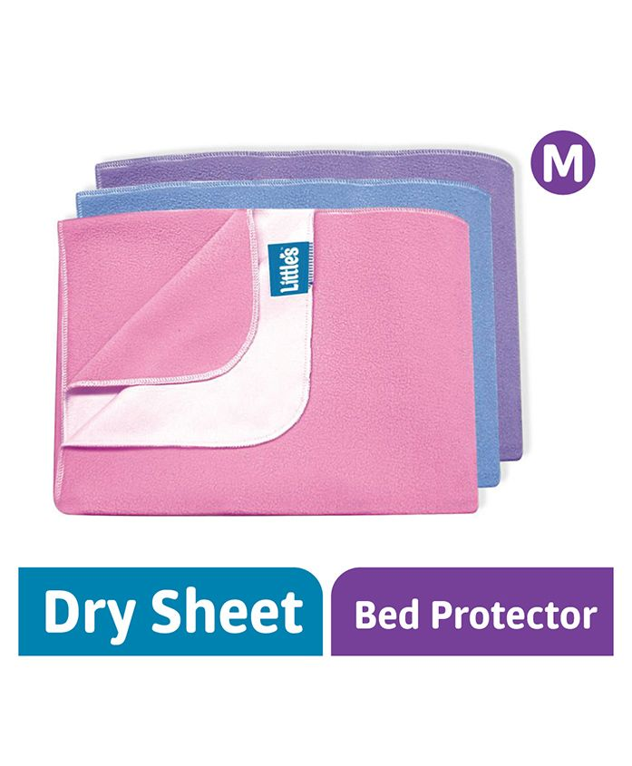Littles Easy Dry Bed Protector Medium (Colors May Vary)