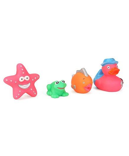 Speedage Animal Set Squeezy Toys Set of 4 - Multicolour