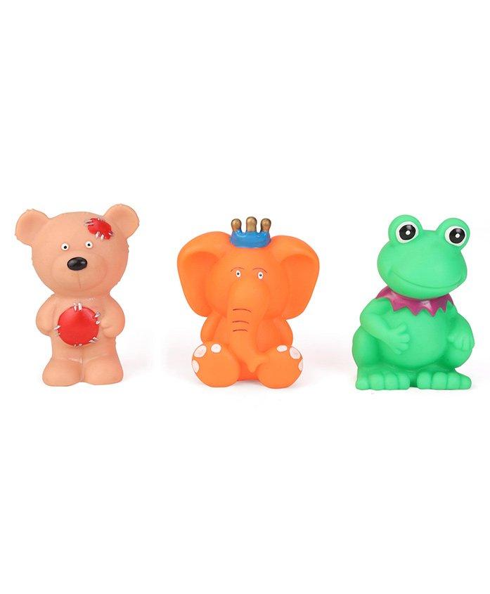 Speedage Animal Set Squeezy Toys Set of 3 - Multicolour