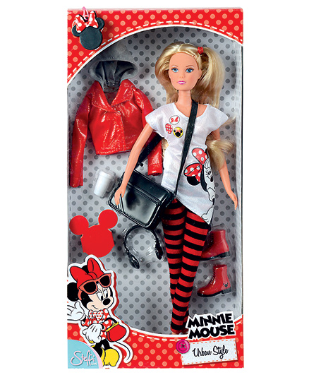 Steffi Love Minnie Mouse Urban Style Doll With Accessories