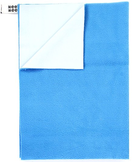 Mee Mee - Blue Total Dry Matress Protector Small