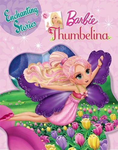 Barbie- Thumbelina Story Book