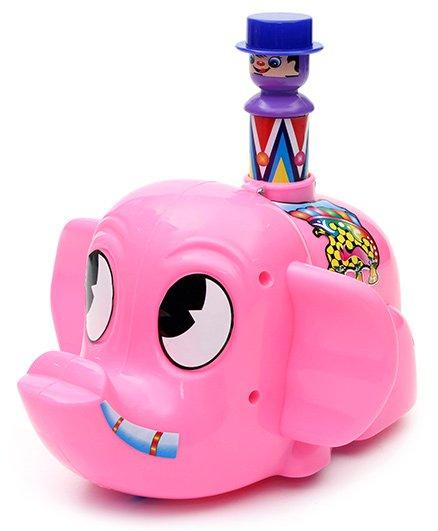 Luvely - Push N Go Mr Jumbo Pink