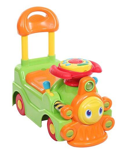 Chicco - Green and Orange New Loco Train Sit N Ride