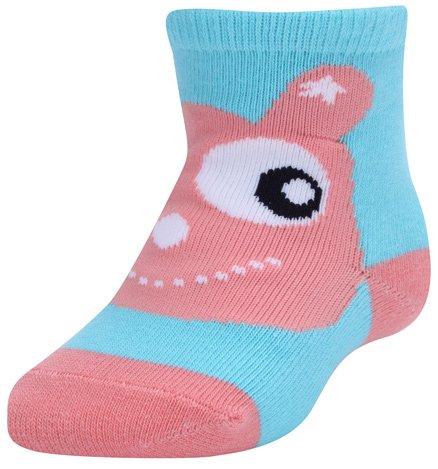 Farlin - Ankle Socks Fish Print Blue