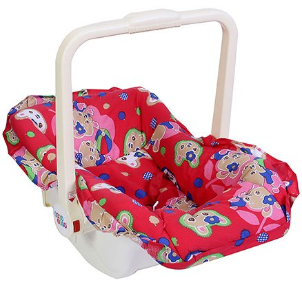 New Natraj - Baby love Carry Cot Cum Rocker Red