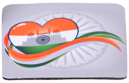 meSleep Proud Indian Hindusitan Independence Day Coaster