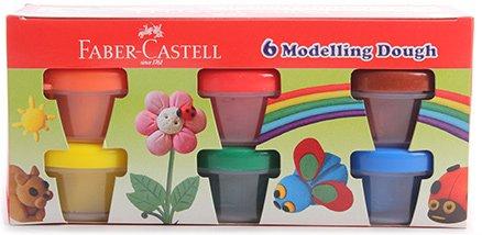 Faber Castell 6 Modelling Dough
