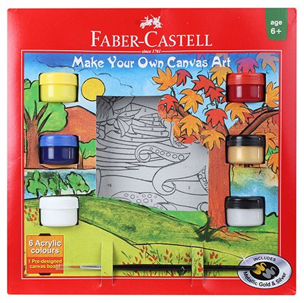 Faber Castell Aqua Make your Own Canvas Art