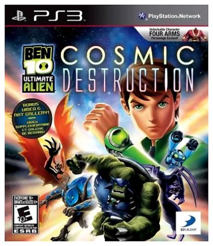Ben 10 -  Ultimate Alien Cosmic Destruction PS3