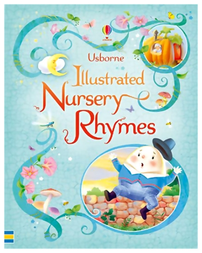 Usborne - Illustrated Nursery Rhymes Book
