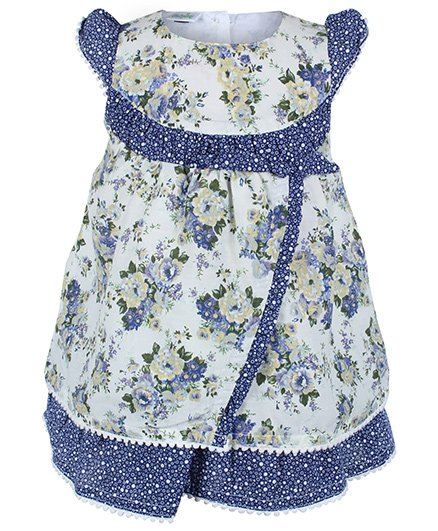 Baby Hug - Tiered Frock With Ruffles