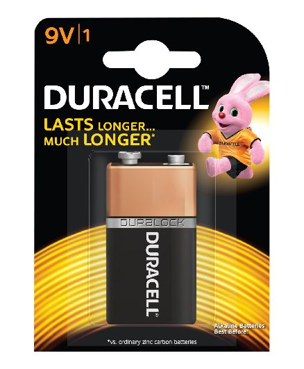 Duracell 9 V Battery - Pack Of 1