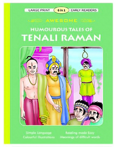 Shree Book Centre - Awesome Humourous Tales Of Tenali Raman Book