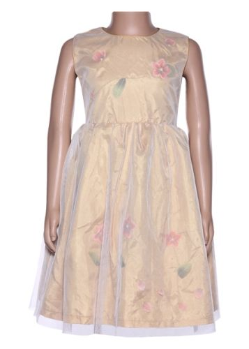 Isabelle -  Party Wear Frock With Flower Print