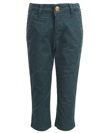 Gini & Jony - Fixed Waist Full Length Trouser Blue