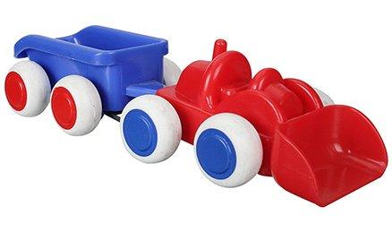 Viking Toys - Garbage Mini Chubbie With Trailer