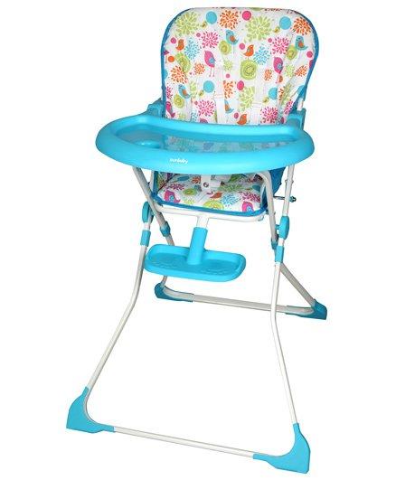 Sunbaby - Delite High Chair Blue