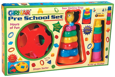 Girnar Pre School Set - Multi Color