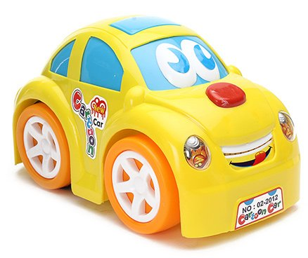 Luvely - Cartoon Car Toy Yellow