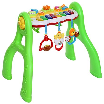 Mee Mee Battery Operated 3 In 1 Fun Activity Gym - Green