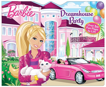 Parragon Barbie Lift The Flap Dream House Party - Over 50 Fun Flaps To Lift
