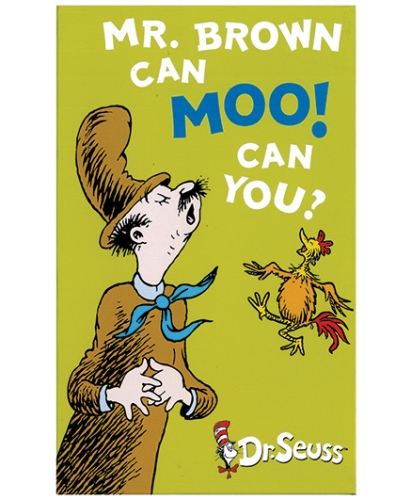 Harper Collins Dr Seuss Mr Brown Can Moo Can You
