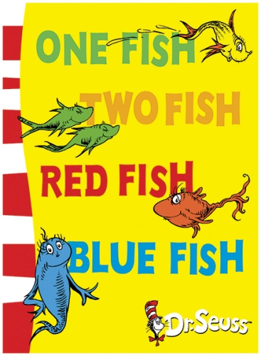 Harper Collins One Fish Two Fish Red Fish Blue Fish - Dr Seuss