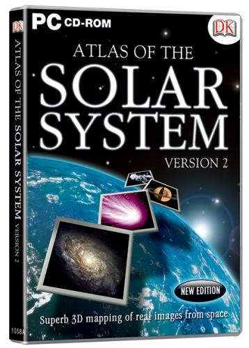 Interlude Technologies Atlas Of The Solar System Version 2 - PC CD ROM