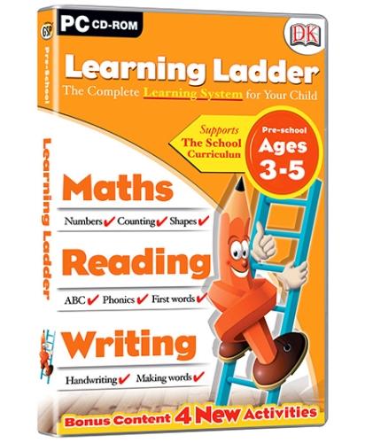 Interlude Technologies Learning Ladder Preschool - PC CD ROM