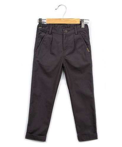 Beebay Full Length Canvas Foldup Trouser - Grey