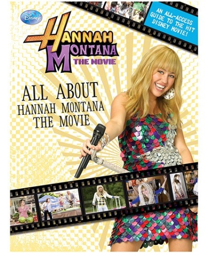 Disney Hannah Montana The Movie Book