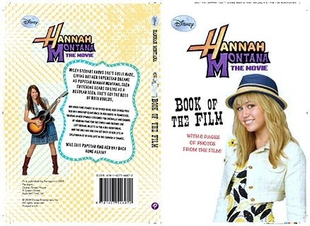 Disney Hannah Montana The Movie - Book Of The film