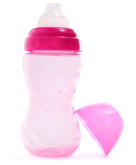 Baby Coo's Grippy Non Spill Cup Nipper Pink - 250 ML