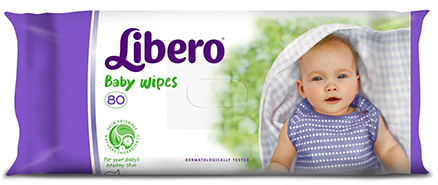 Libero Baby Wet Wipes 80pcs