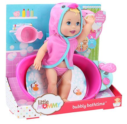 Fisher Price Little Mommy Bubbly Bathtime Doll - 13 Inches App